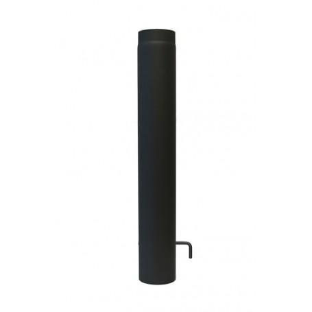 Dimovodna cijev 2mm sa L zasunom 1000 mm fi130