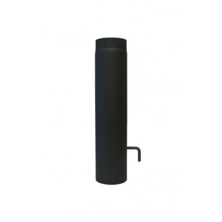 Dimovodna cijev 2mm sa L zasunom 500 mm fi120