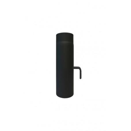 Dimovodna cijev 2mm sa L zasunom 250 mm fi160