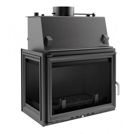 Zuzia 19 kW-PW/BL/19/W-kamin za centralno grijanje