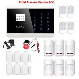 GSM PSTN alarm system AS6