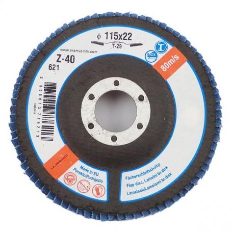 Lamelni brusni disk LBD 115X22 Z40