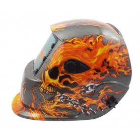 Welding mask Weld Vision flame