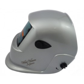 Welding mask Weld Vision silver
