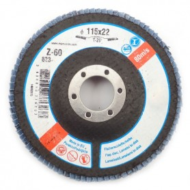 Abrasive flap disk LBD 115X22 Z60