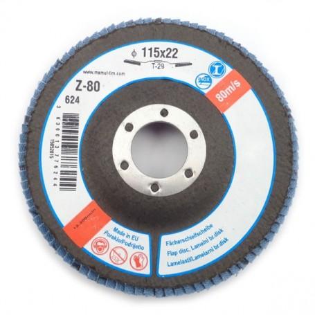 Lamelni brusni disk LBD 115X22 Z80