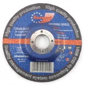 Brusna ploča za metal Eurocut 125X6,0