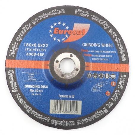 Grinding disc for metal Eurocut 180X6,0