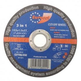 Rezna ploča za metal 125X1,0 Eurocut