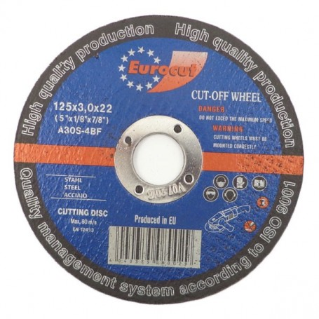 Rezna ploča za metal 125X3,0 Eurocut