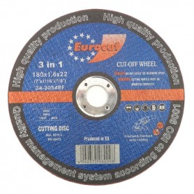 Cut-off wheel for metal 180X1,6 Eurocut