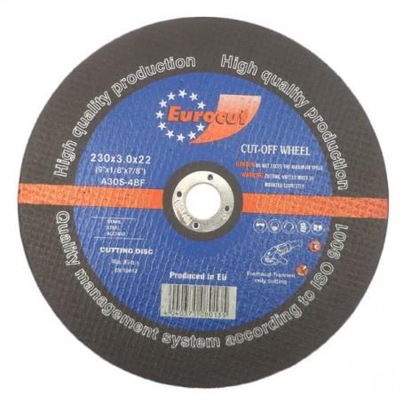 Cut-off wheel for metal 230X3,0 Eurocut