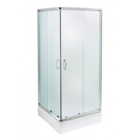 Adora 80 square shower cabin with tub