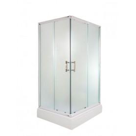 Amora 80100 rectangular shower cabin with tub