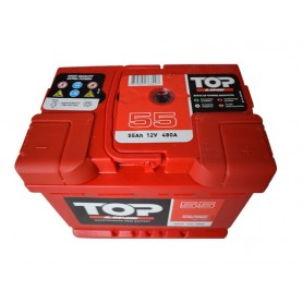 12V-55 Ah D plus Top Line battery