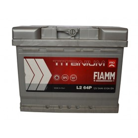 12V-64Ah D plus Fiamm Titanium pro battery