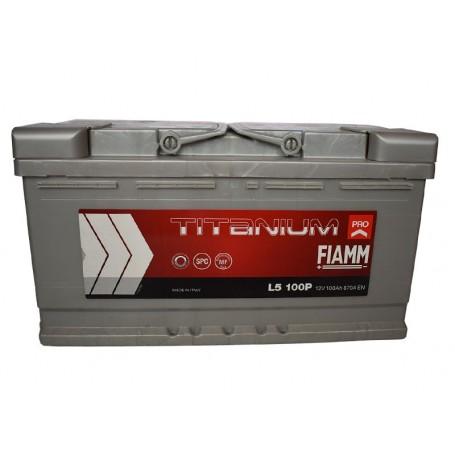 12V-100Ah D plus Fiamm Titanium pro akumulator