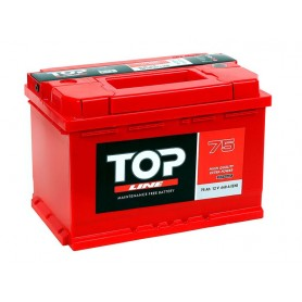 12V-75 Ah D plus Top Line battery