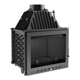 Zuzia 16-PR built-in fireplace