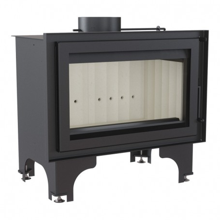 Basia 15 built-in fireplace