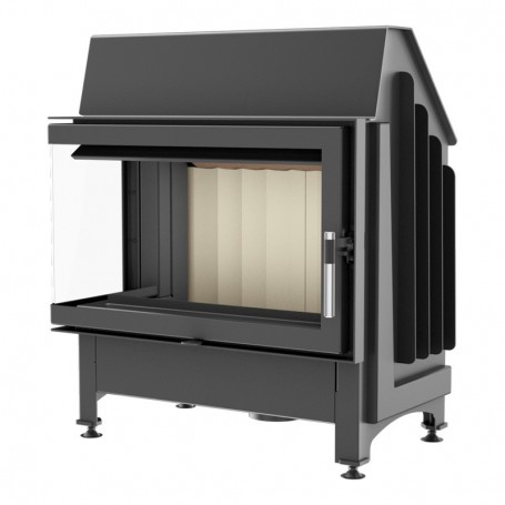 Zibi 12-L/BS built-in fireplace