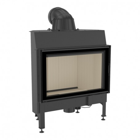 Nadia 12 built-in fireplace