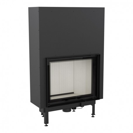 Nadia 13-G built-in fireplace
