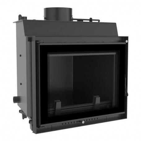 Eryk 10 kW-PW/10/W/DECO-fireplace for central heating