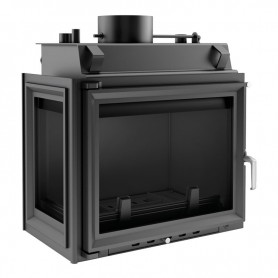 Maja 12 kW-PW/BL/12/W-kamin za centralno grijanje
