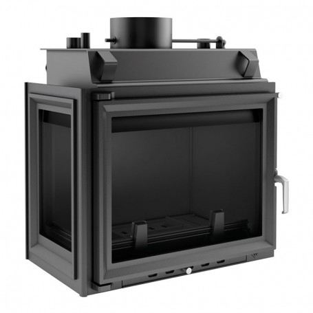 Maja 12 kW-PW/BL/12/W-fireplace for central heating