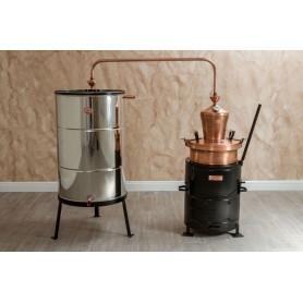 Distilling pot still Overturn 60 liters without hand stirrer