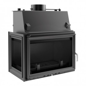 Oliwia 17 kW-PW/BL/17/W fireplace for central heating