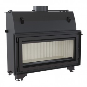 Mila 24 kW-PW/24/W fireplace for central heating
