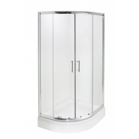 Hoya R 80x100x200 cm - polukružna tuš kabina