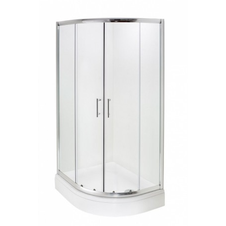 Hoya L 80x100x200 cm - polukružna tuš kabina