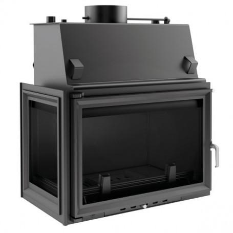 Zuzia 15 kW-PW/BL/15/W-kamin za centralno grijanje