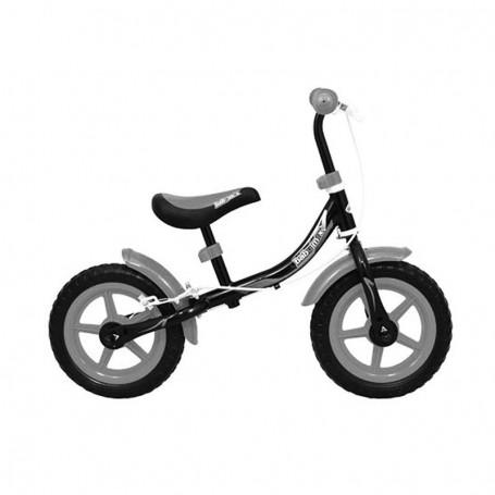 Dječji bicikl bez pedala - crno/sivi