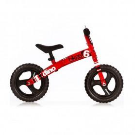 Dječji bicikl bez pedala - crveni