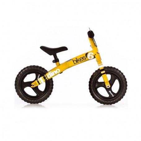 Dječji bicikl bez pedala - žuti