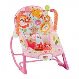 Dječja roza sjedalica sa zečićima - Fisher Price