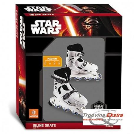 Koturaljke Star Wars - veličina 33-36 sa svjetlećim kotačima