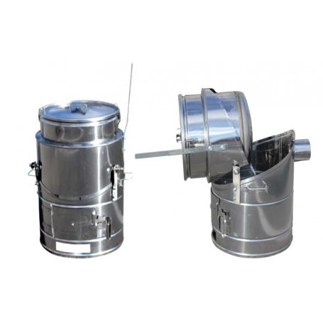 Quick-cooking 120 liters stainless steel boiler
