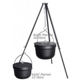 Plamen Kettle with lid