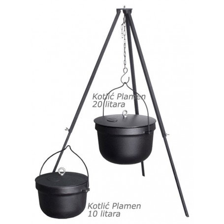 Plamen Kettle with lid