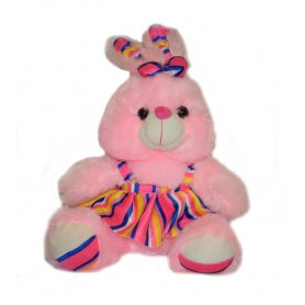 Plush toy pink rabbit 40 cm