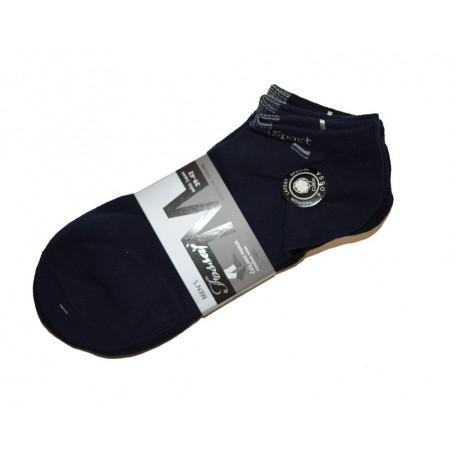 Muške čarape stopalice Fossaj raznih boja vel. 39-42, 3 para