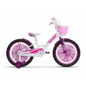 """Dječji bicikl Larisa 20"""" bijela boja"""