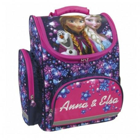 Frozen ergonomska školska torba - Anna i Elsa