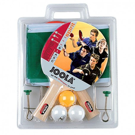 Set za stolni tenis - 2 reketa, 3 loptice i mrežice - Joola