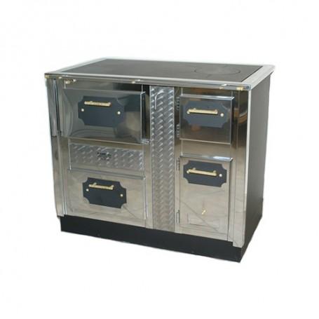 SPC 110 30kW štednjak na drva za centralno grijanje sa pećnicom